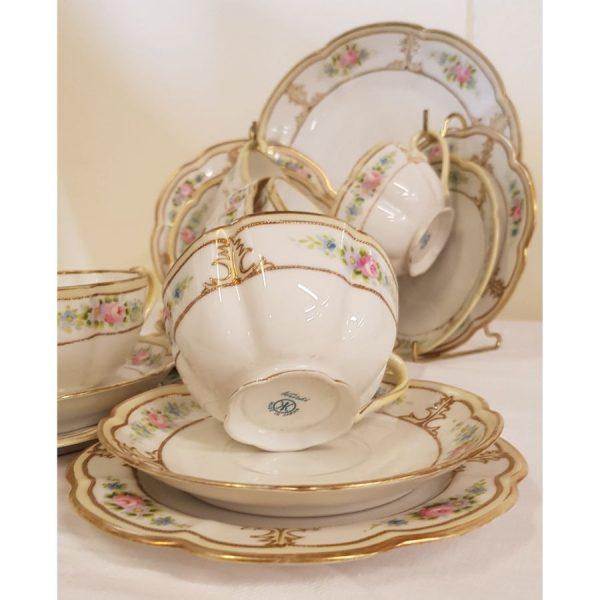 Vintage Noritake part tea set