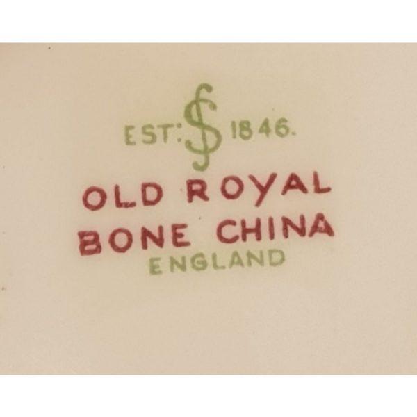 Sampson Smith, Old Royal, Bone China, Cake/Sandwich Plate