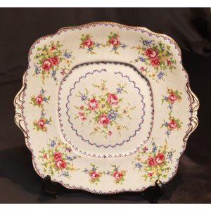 Royal Albert, Petit Point, Bone China, Cake/Sandwich Plate