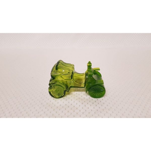 green glass Aftershave decantor
