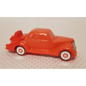 Ford Aftershave orange glass Decantor