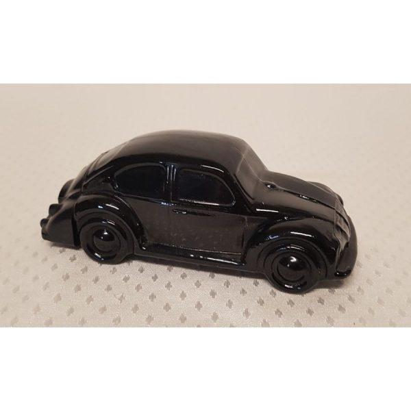 """Avon """"Volkswagen"""" black glass decantor"""