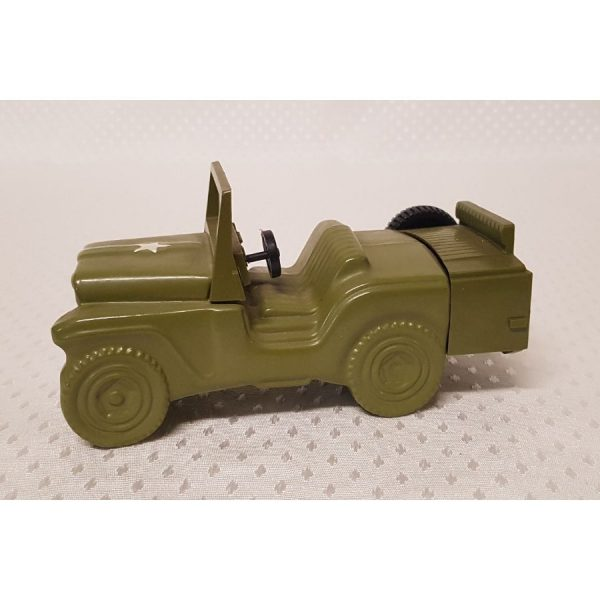 Avon Wild Country Aftershave green glass Jeep decantor