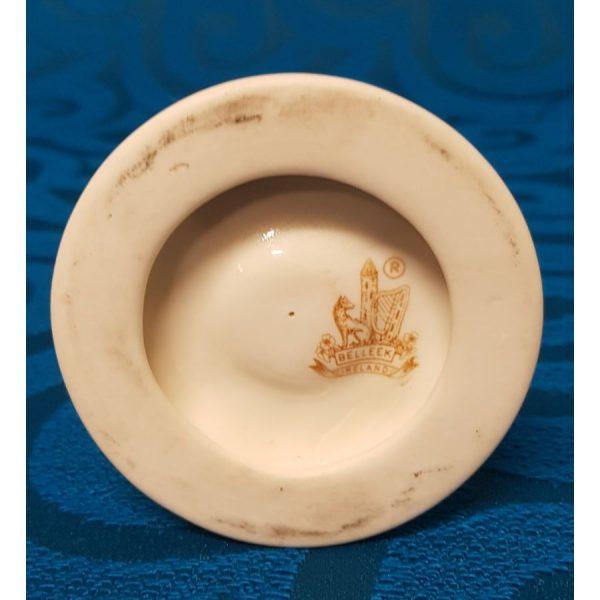 Belleek Porcelain Hurricane Fairy Lamp/Tea Light.