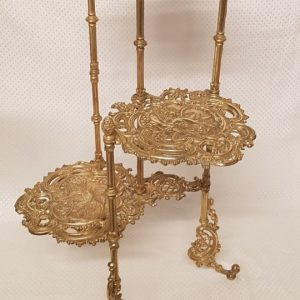 Ornate Brass Plant Stand