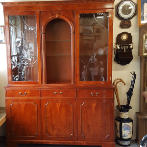 Immaculate Rosewood Display Cabinet