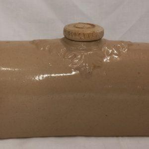 Victorian Stoneware hot water bottle
